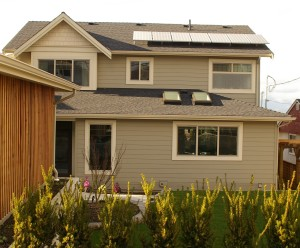 Burnaby Grid-tied Photovoltaic System