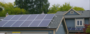 Vancouver residence solar power installation