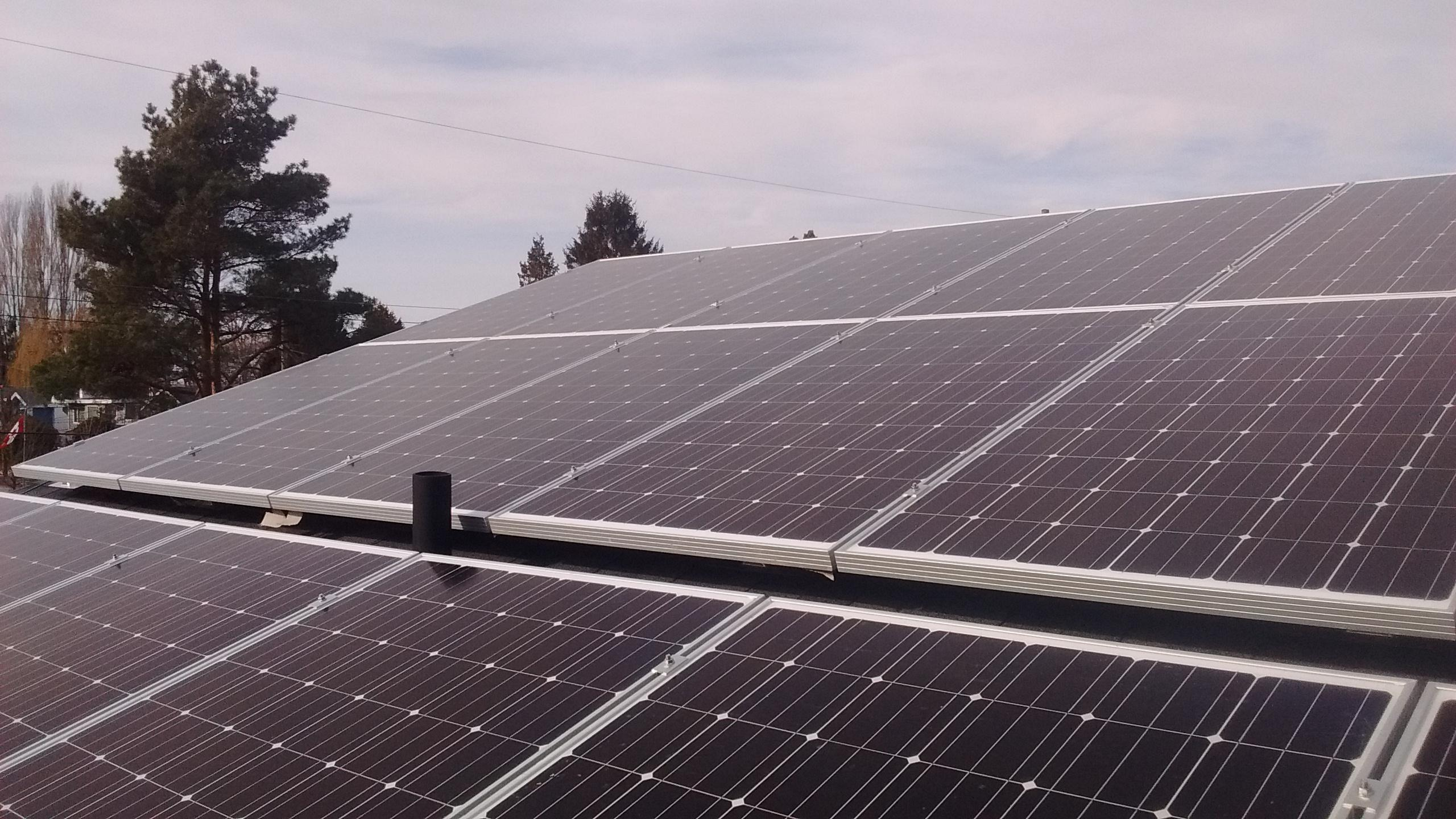 Happy Spring! Net Metered 8.1 kW PV System in Tsawwassen