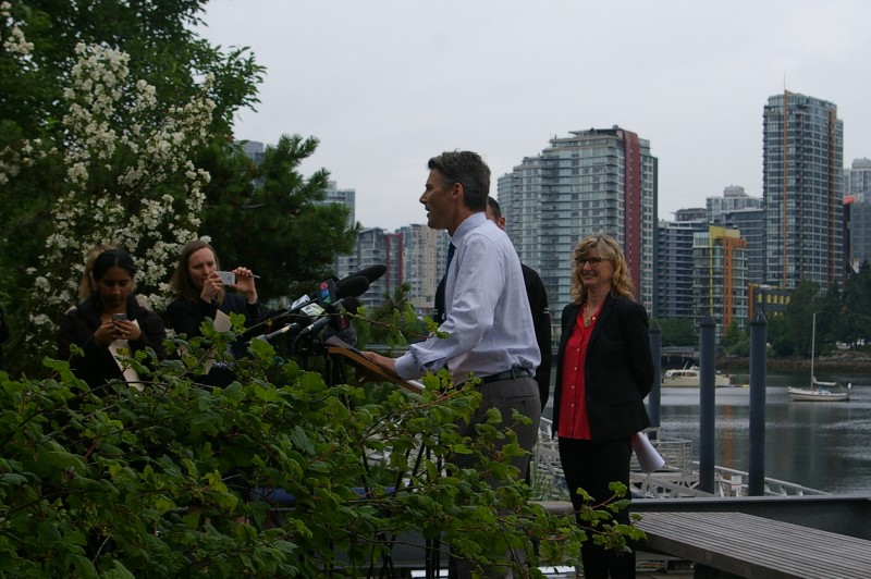 Vancouver Mayor Launches Our Solar Energy Installation