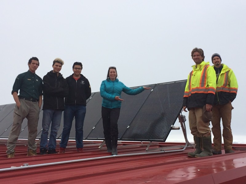 VREC Installs Northernmost Community Solar Project
